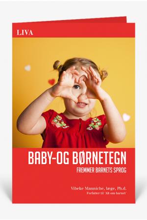 Baby- og børnetegn - fremmer barnets sprog