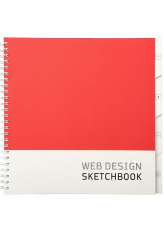 Web design sketchbook