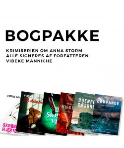 Bogpakke - Anna Storm
