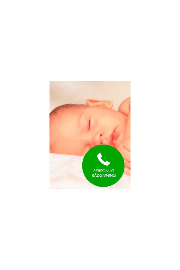 PERSONLIG RÅDGIVNING om dit barns søvn - Telefonkonsultation